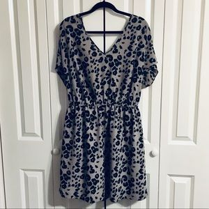 Jaime leopard print dress